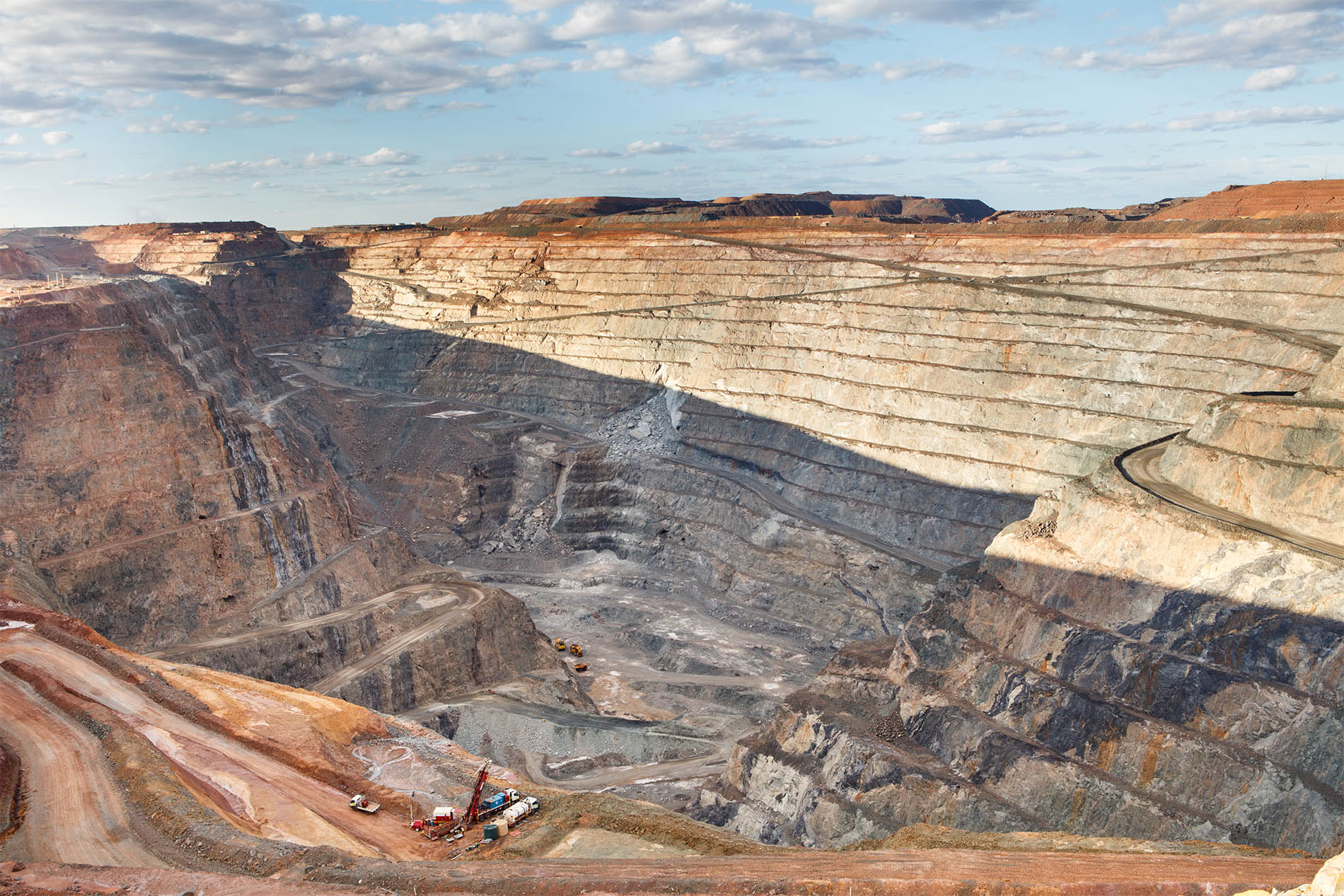 mining pit in Australia