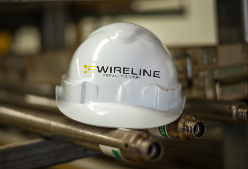 Wireline Services Group hard hat